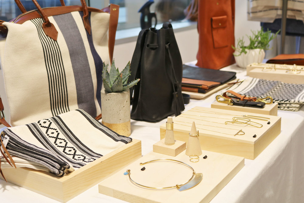 Tribe Alive's pop-up shop of clothing, jewelry, and accessories handmade by female artisans in Guatemala, Haiti, India, Honduras, and Fort Worth, TX.