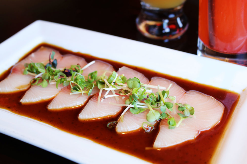Garlic Ponzu Yellowtail
