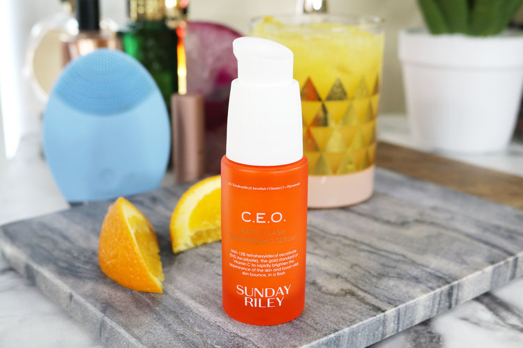 Review | Sunday Riley C.E.O. Rapid Flash Brightening Serum ...