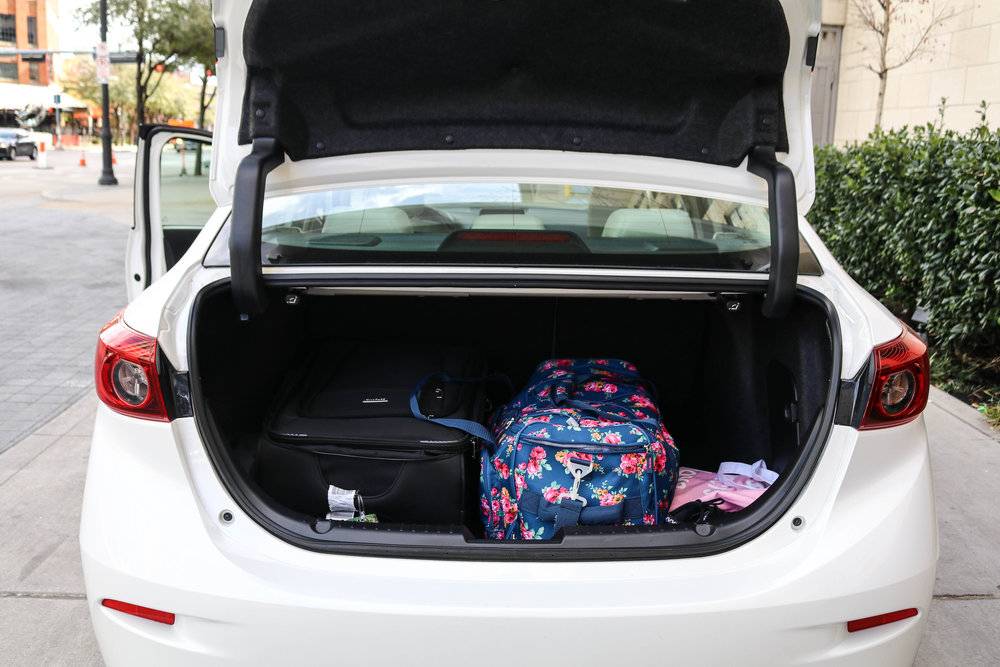 Spacious Trunk for Luggage