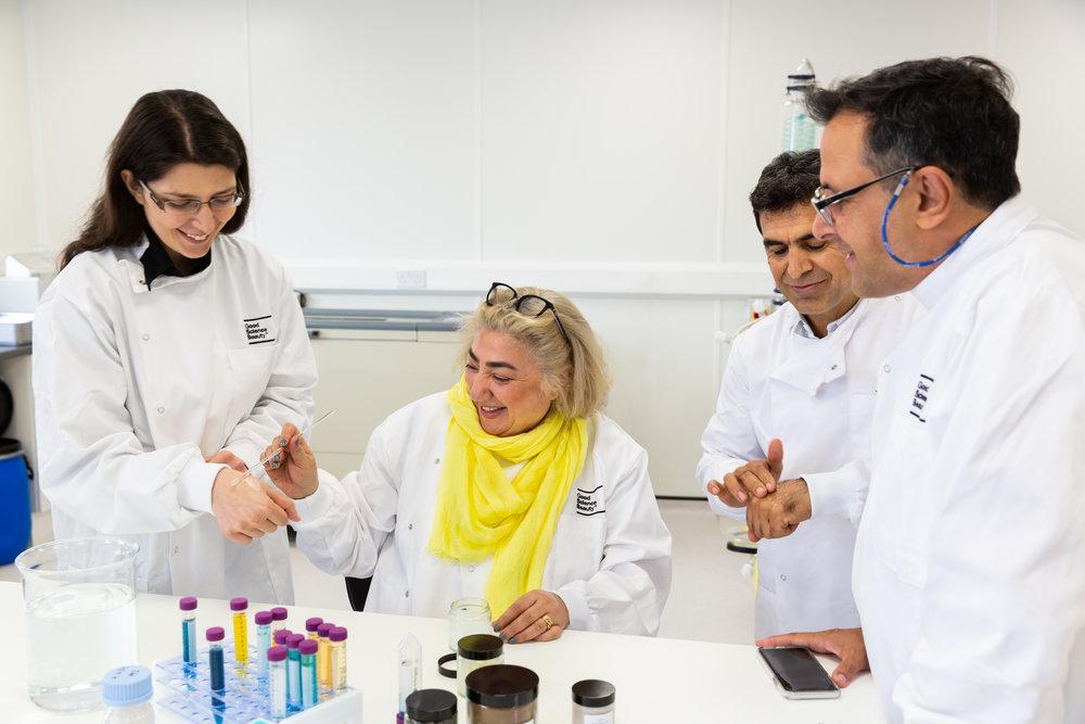 Chief Scientist, Suzanne Saffie-Siebert c/o Good Science Beauty