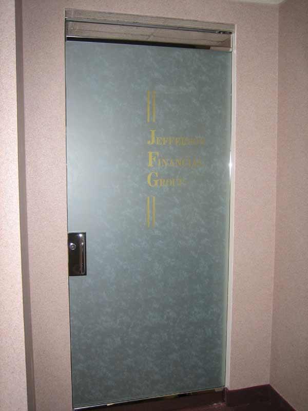 Frosted Herculite Door & Herculite Doors u2014 Quality Glass u0026 Metal