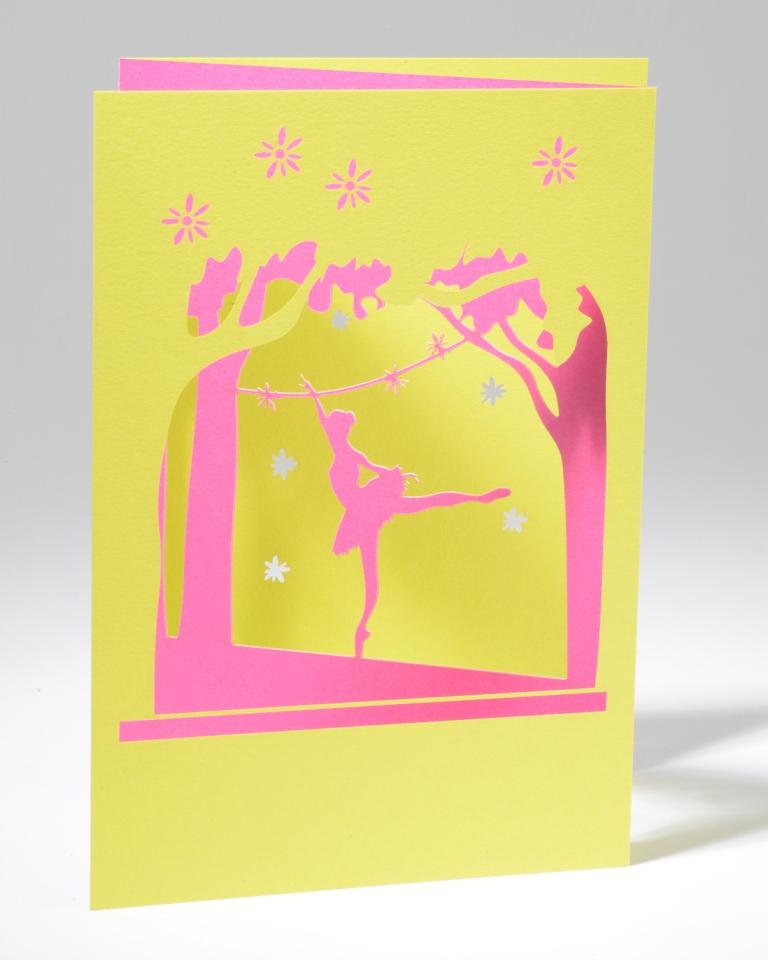 Ballerina Pink/Green #210PP01