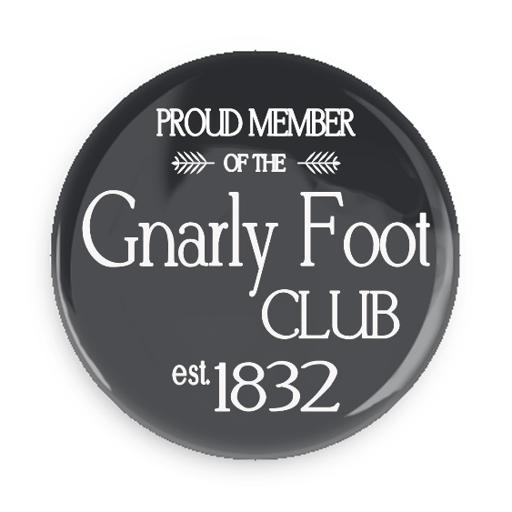 Gnarly Foot Club #100CC15