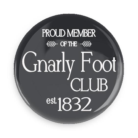 Gnarly Foot Club #100CC15