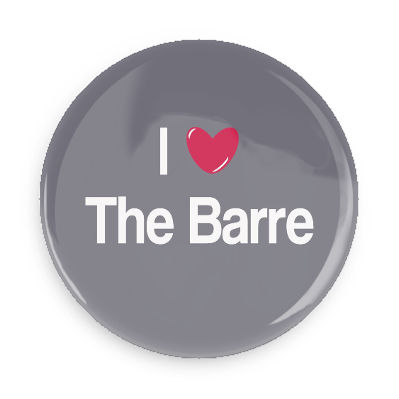 I Love The Barre #750CC24