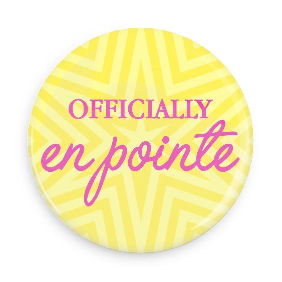 Officially En Pointe #100CC84