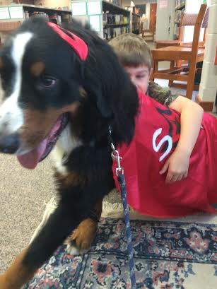 Super Dog gives great hugs!