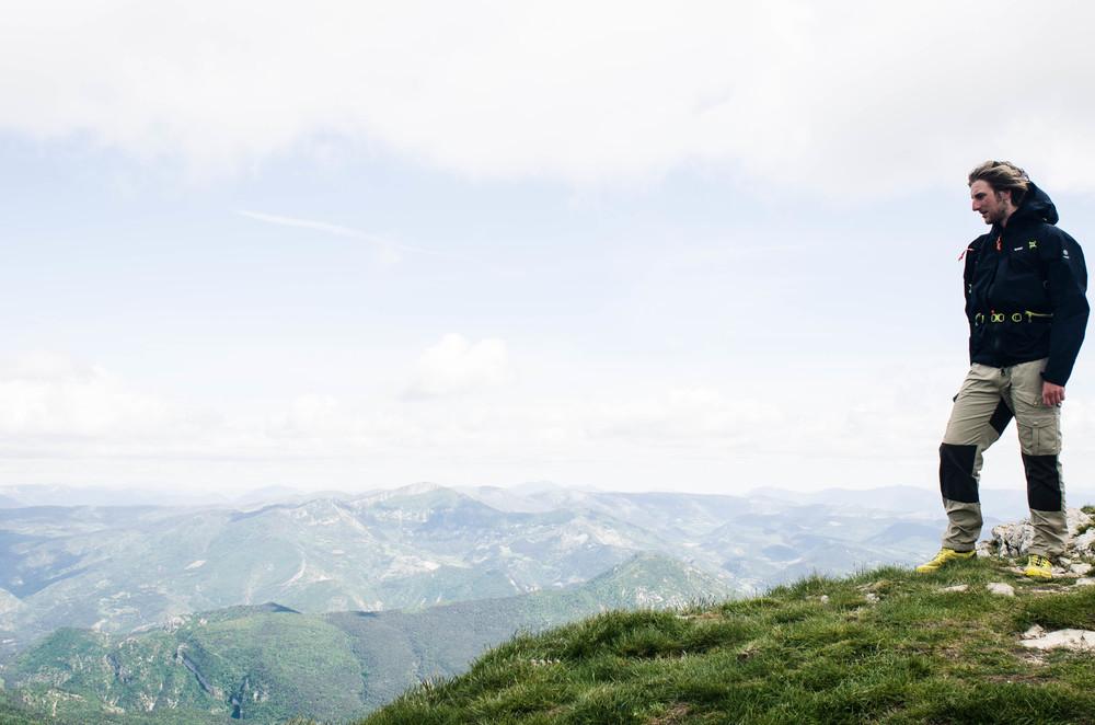 Me having a zen momentin Les Trois Becs, France. Photo: Jørgen Thuesen (Senior)