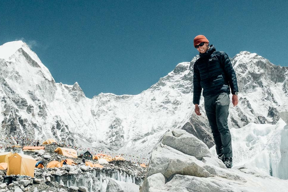On assignment (Mt. Everest Base Camp).