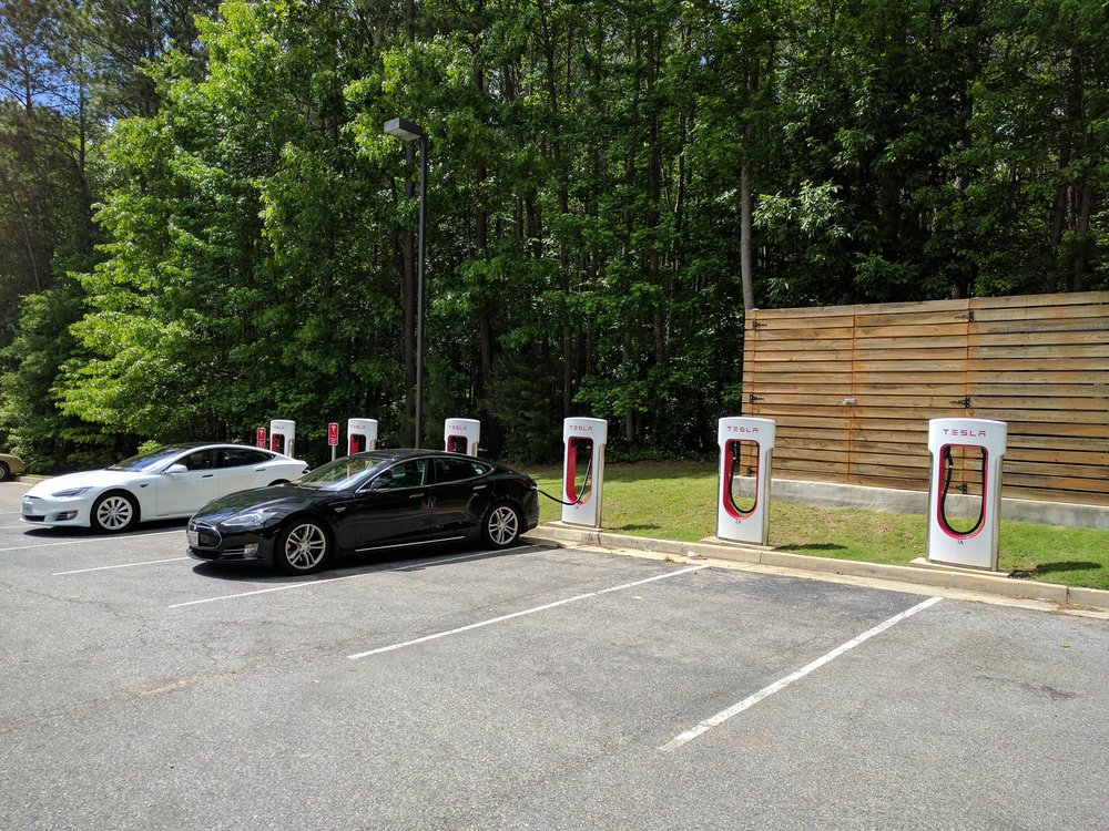 To Stopping by The Superchargers -