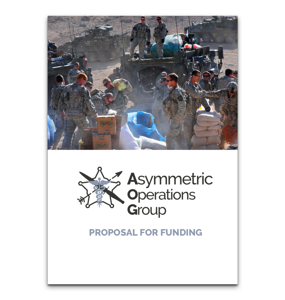Asymmetric Operations Group Funding Proposal -