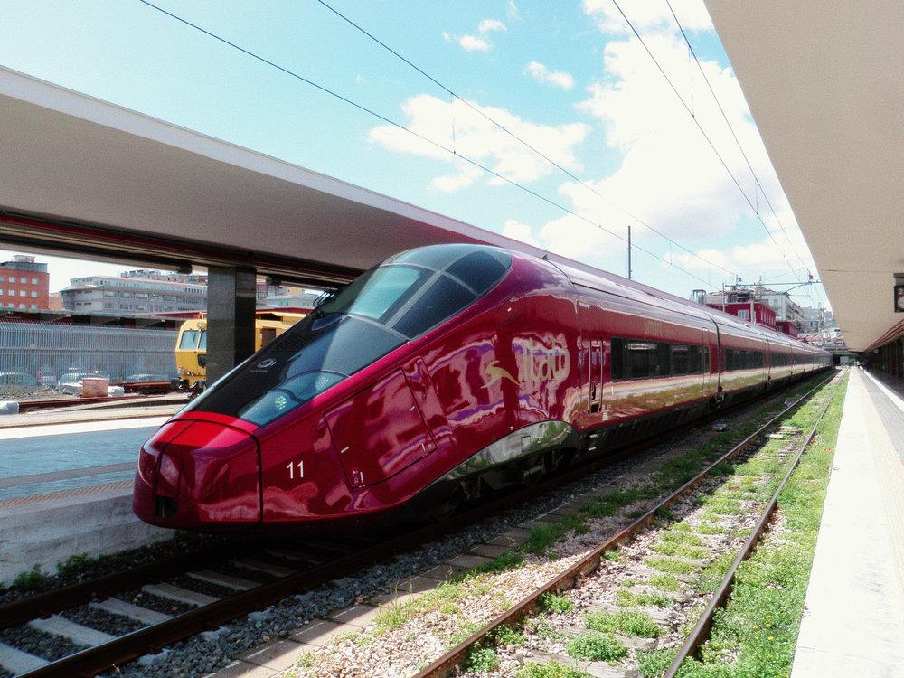 .italo - The private HSR service from Nuovo Trasporto Viaggiatori (NTV)