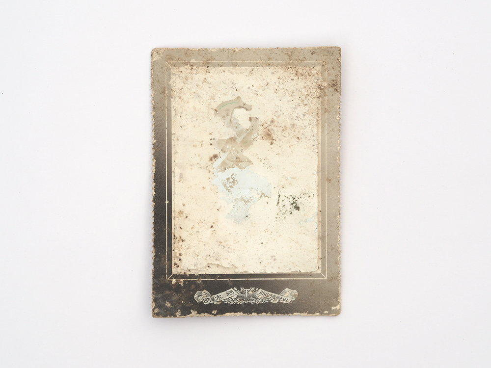 """This Too Shall Pass 14  5.5"""" x 3.5"""" Photographic paper, fungus, insects 2018"""