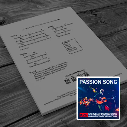 Passion Song - String Ensemble
