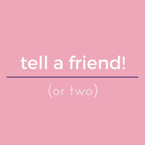 tell a friend referral 50
