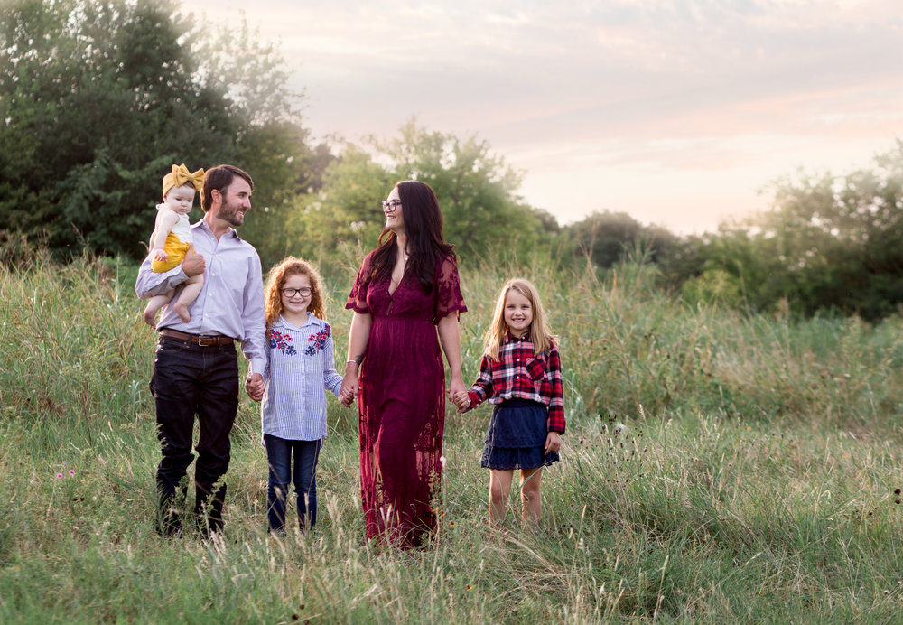 fall family mini sessions dallas tx