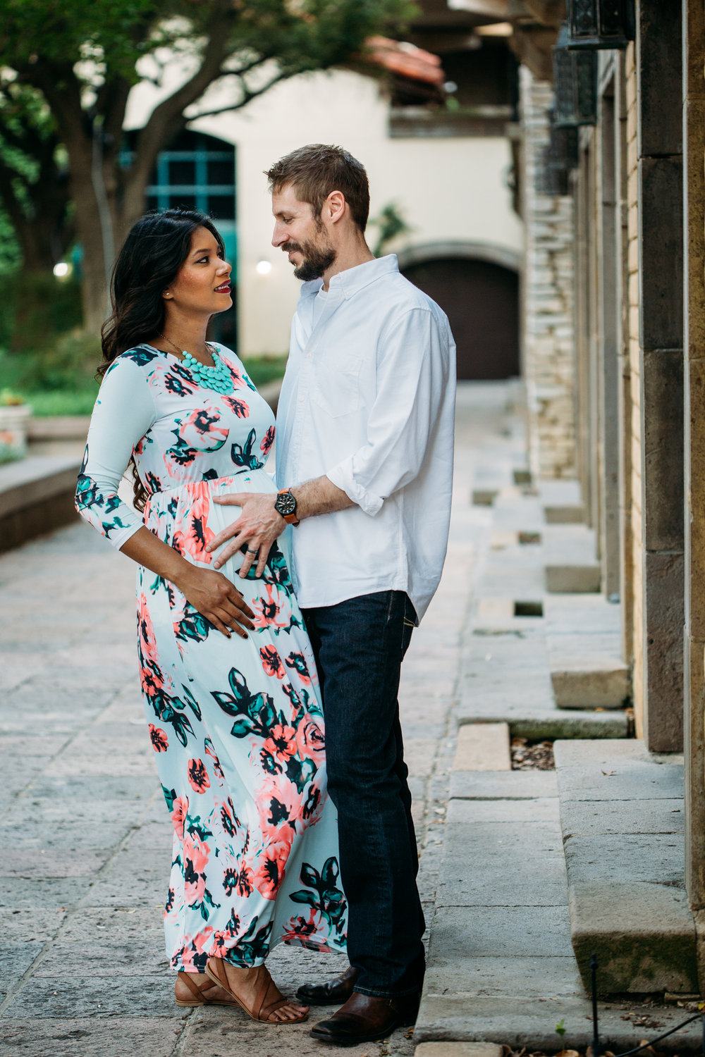 dallas maternity session