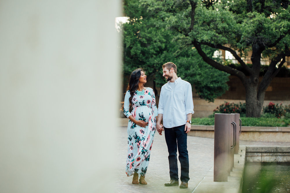 anee + richard - maternity portrait session