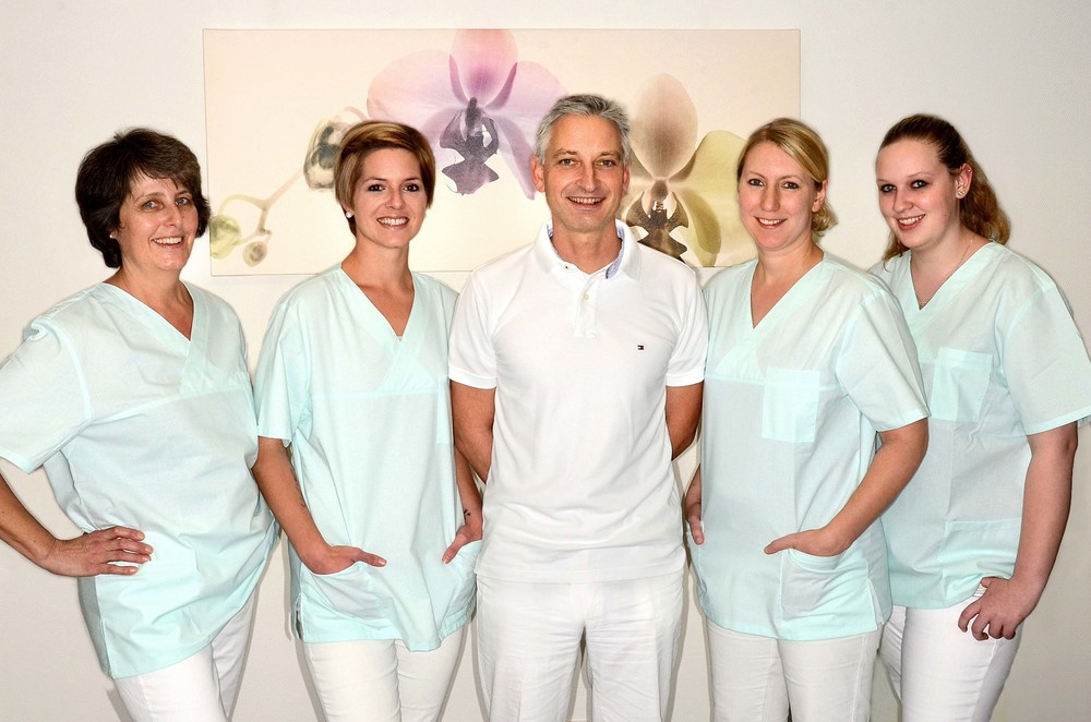 The team of the dental surgery Dr. Freitag