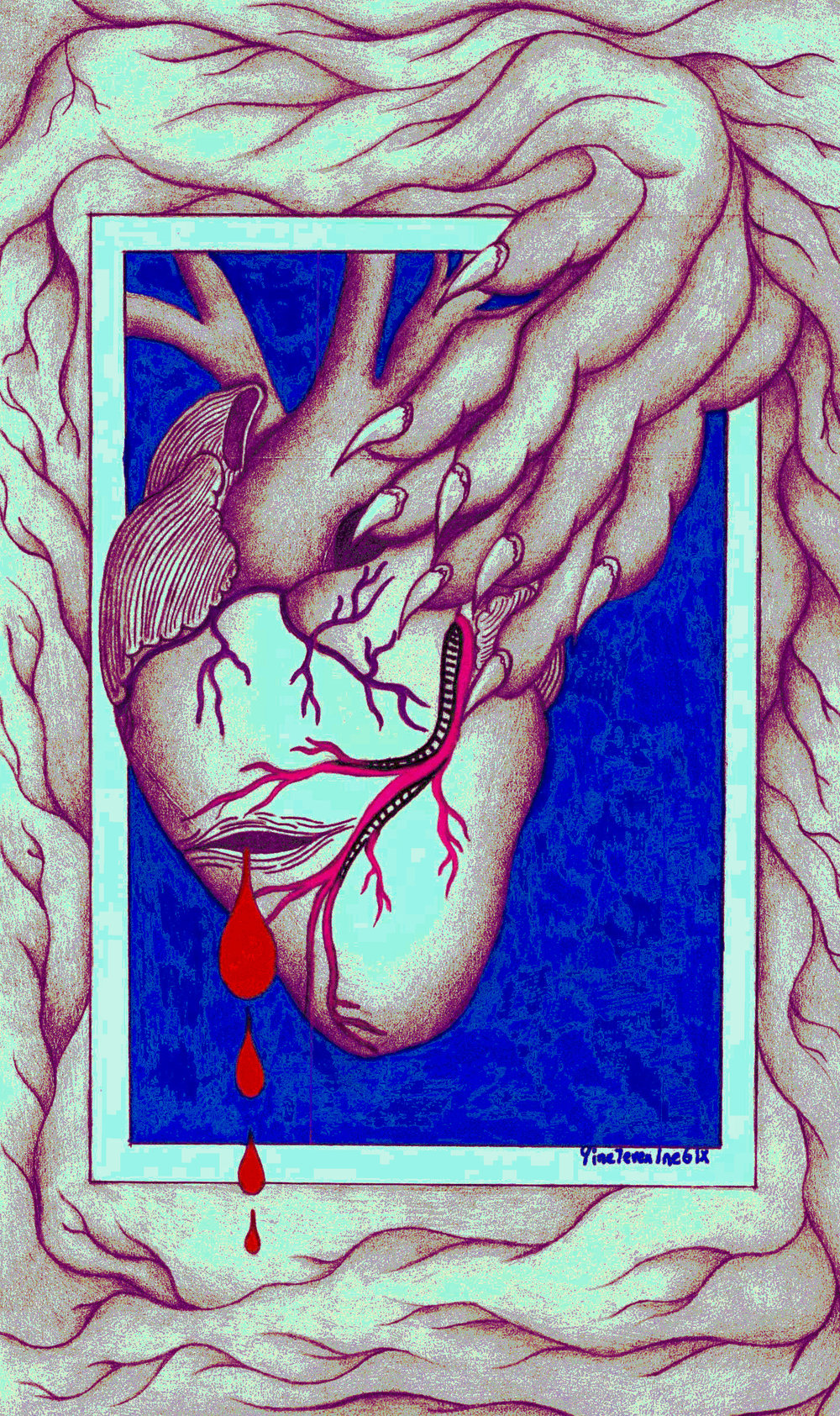 The Heart Born From The Frame