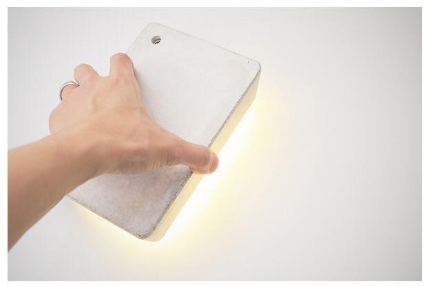Brick lamp - indicative activation