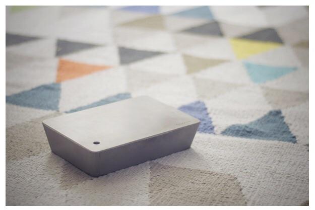 Brick lamp - minimal intuitive design