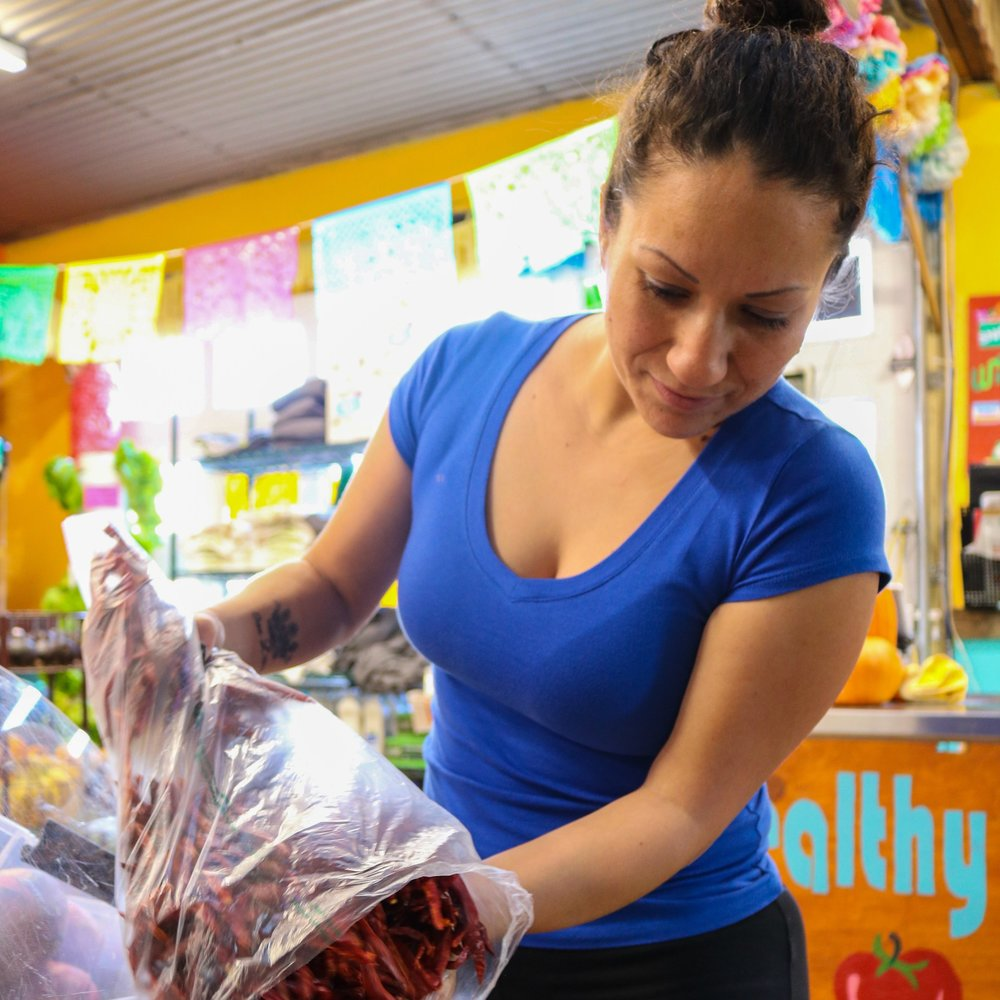 Laura Molina, GrowHaus Market Coordinator and Mother of Three:  #MyGrowHaus ended my days of settling for unhealthy food to feed my kids.