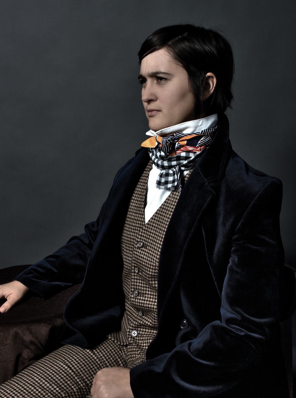 Lauren Esposito as Charles Darwin                                                Photo by Lauren Tabak Styling & Assisting by Danielle Mallory