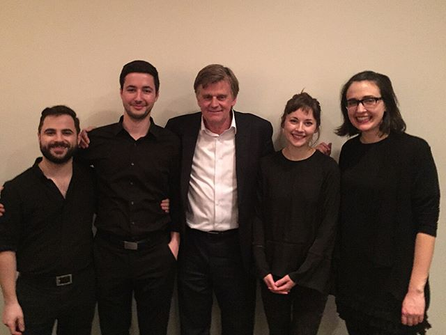 Huge thanks to composer Stephen Prutsman for writing the amazing score, and to the Pedja Muzijevic and the @baryshnikovartscenter for hosting us to a sold-out house last night.  It was a magical and mysterious evening!