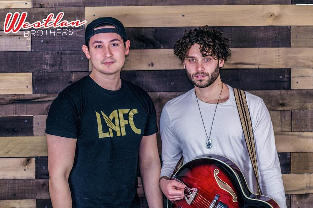 Westlan Brothers, Brett and Coty, perform midwest country music and everyone's favorite summer hits. Their music genre is heavily influenced by today's current pop-country style.