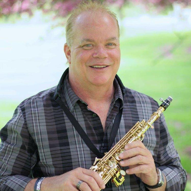 New age jazz & blues saxophonist