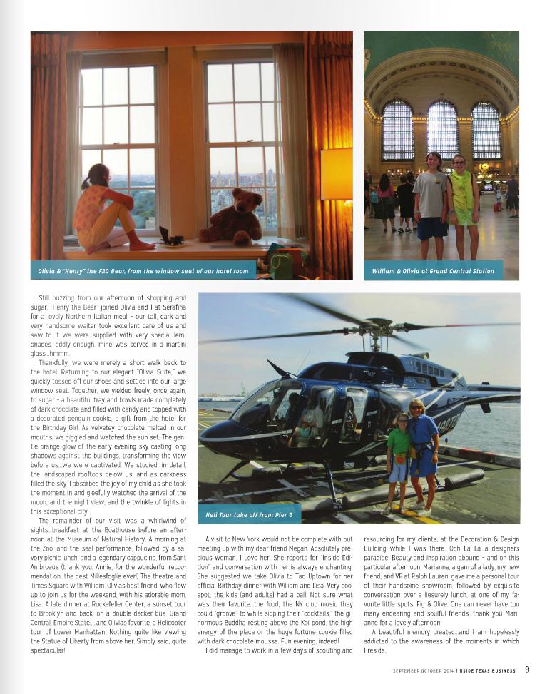 NSIDE MAGAZINE SEPT/OCT 2014