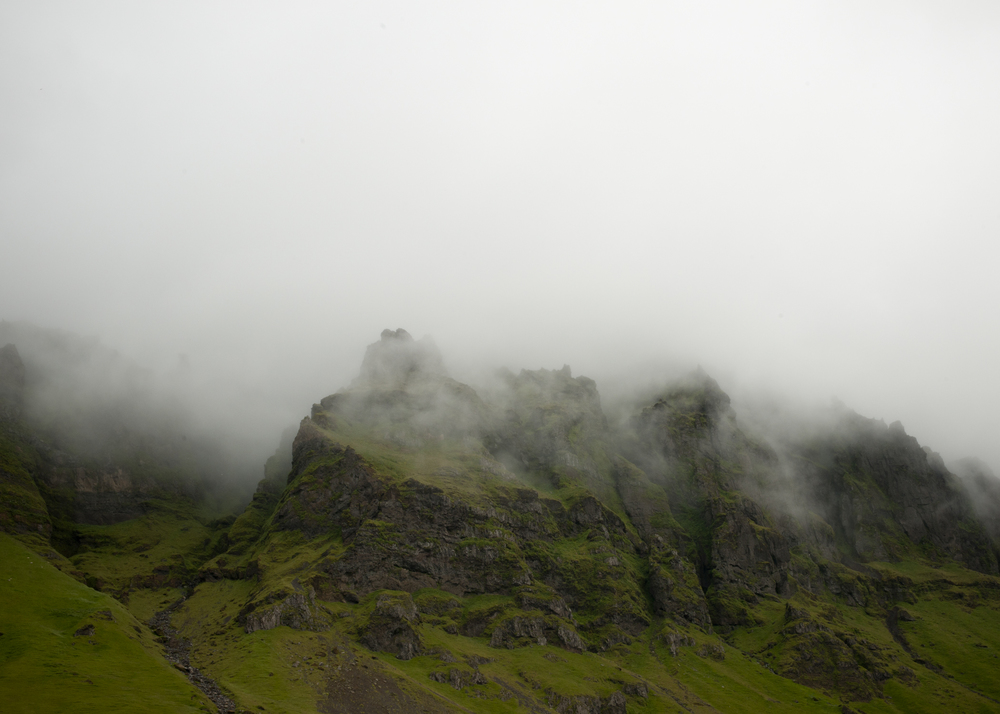 Fog, Iceland 2011