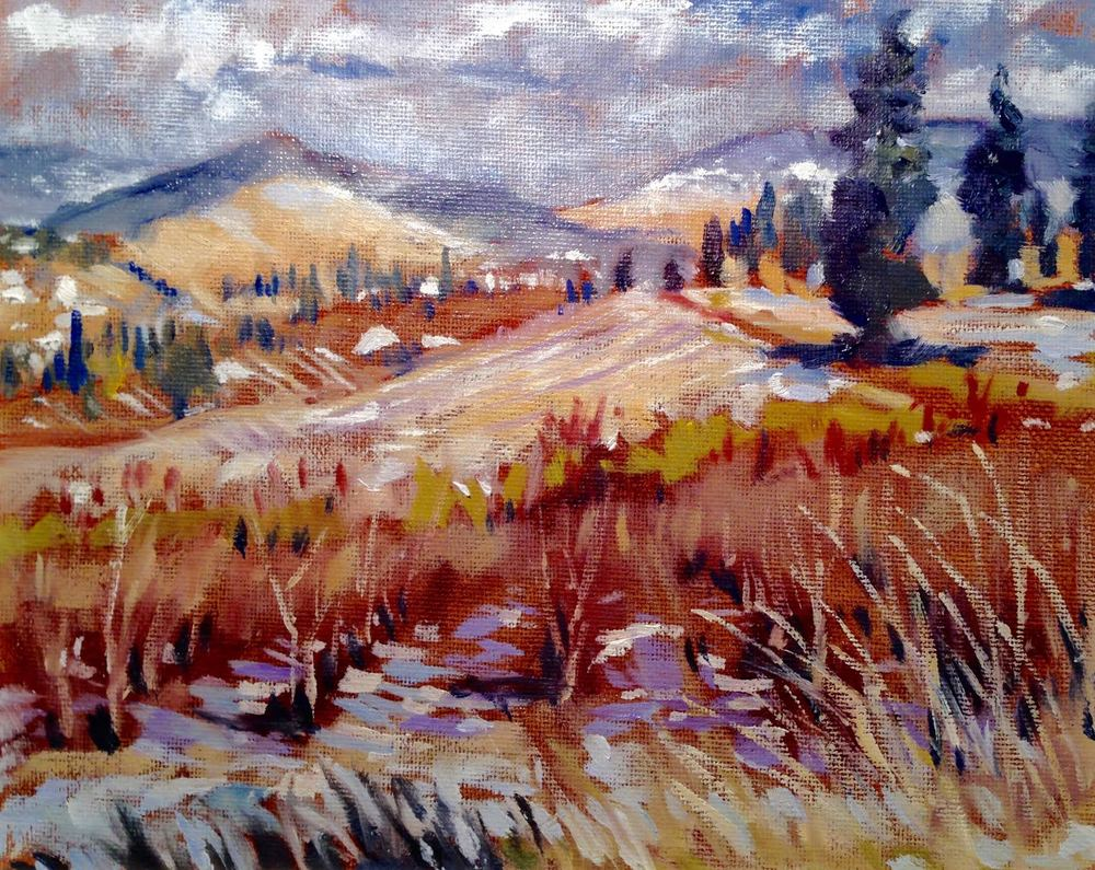 """Okanagan Waiting for Spring"""