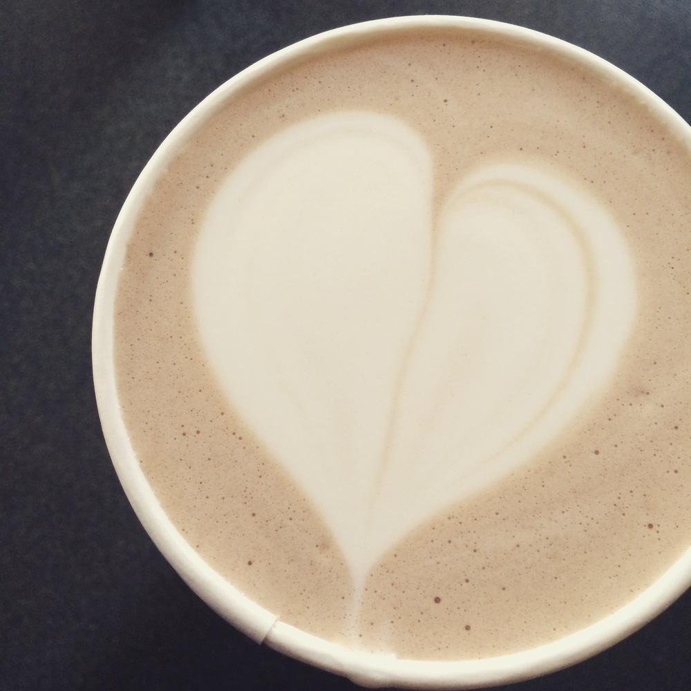 Small reminders in my hot chocolate to love life despite all of its challenges.