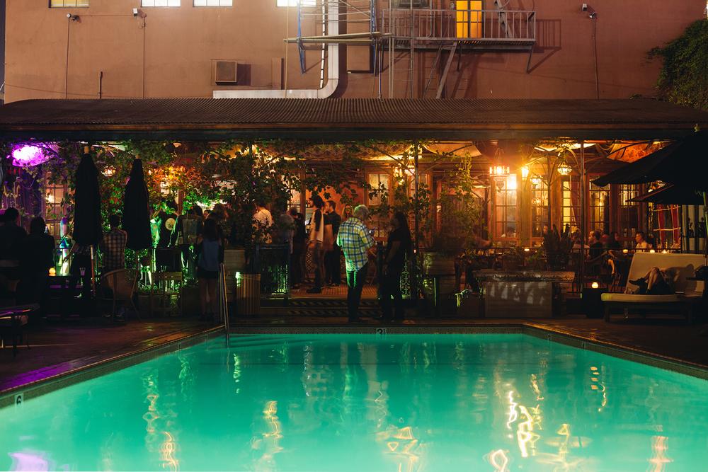 Hotel Figueroa Pool
