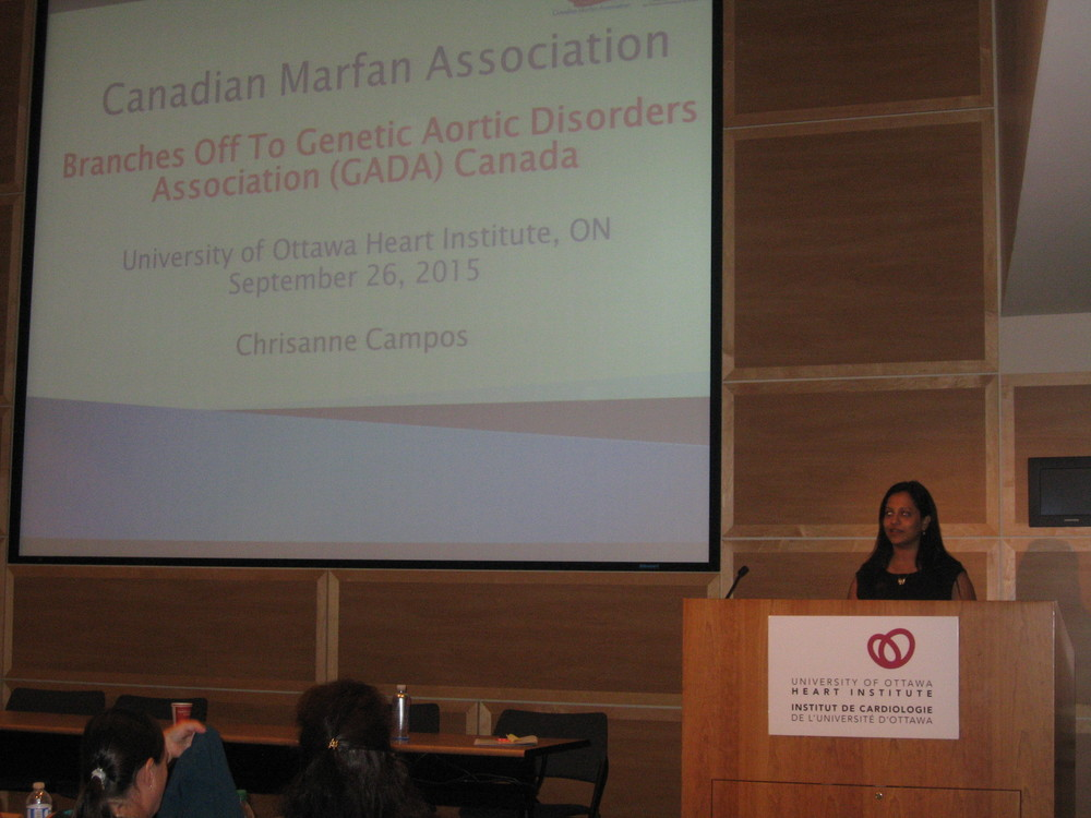 Chrisanne Campos, Executive Director GADA Canada -  Launching GADA Canada and the new website