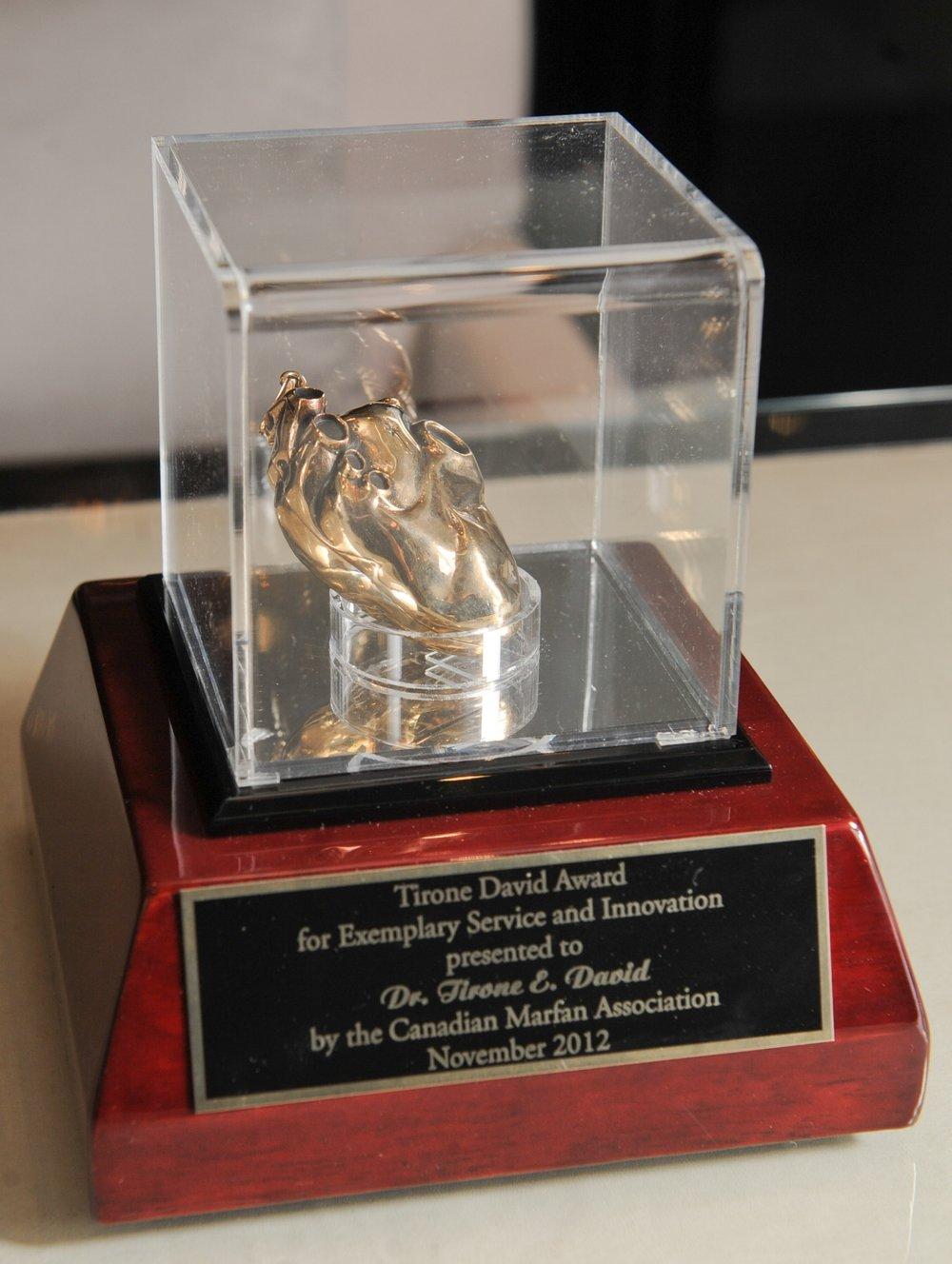 Tirone David Heart Award