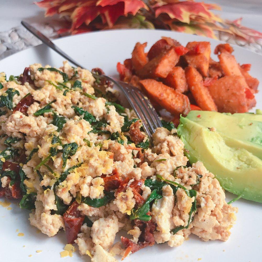 Spinach Tomato Tofu Scramble.JPG