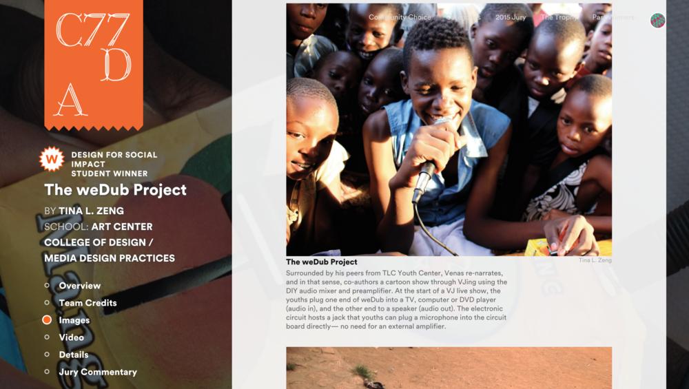 wedub_core77_social_impact_win