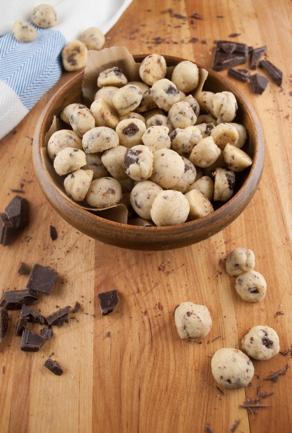 4 Ingredient Mini Chocolate Chip Cookies