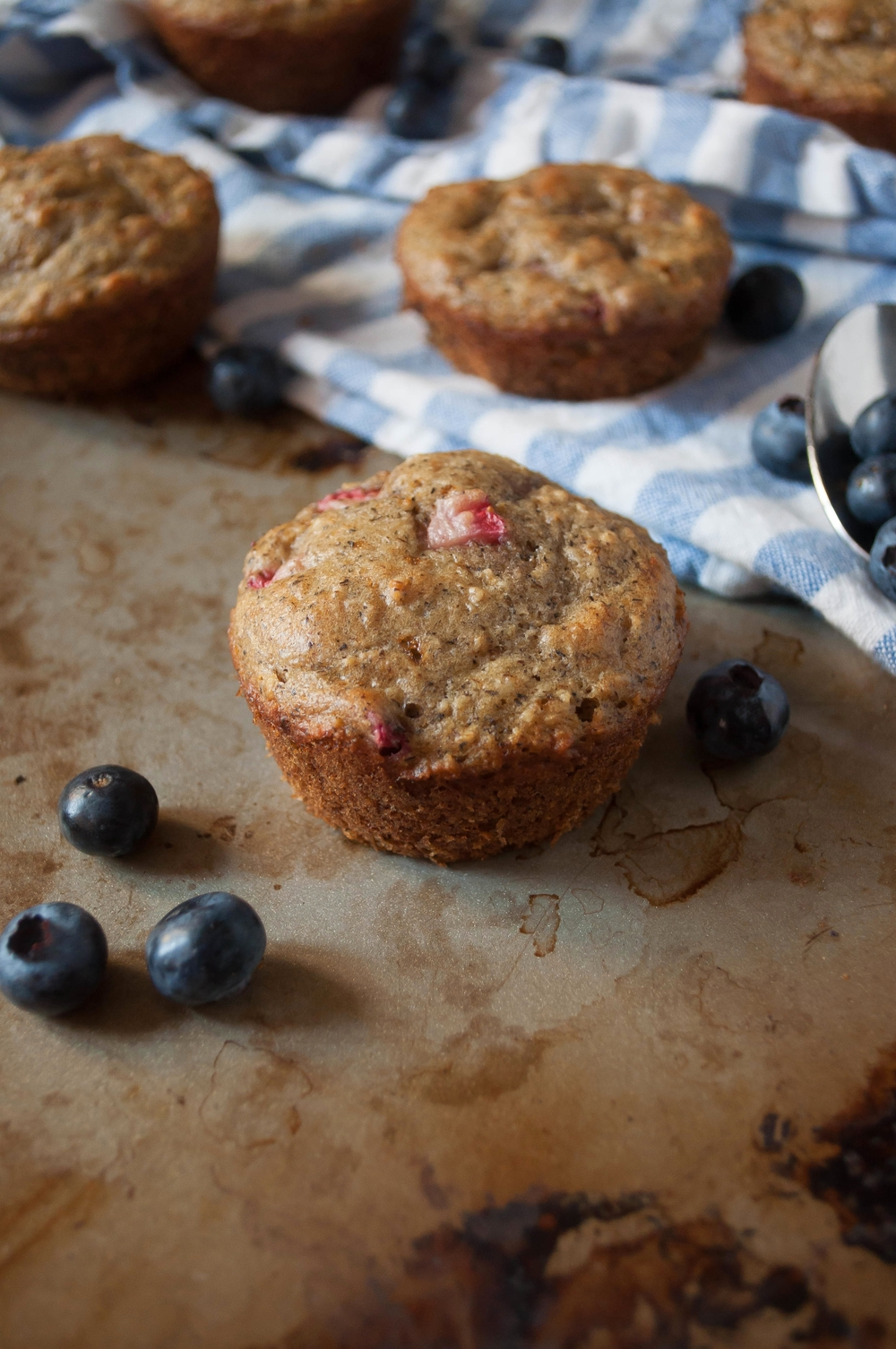 My Favorite Mixed Summer Berry Muffins