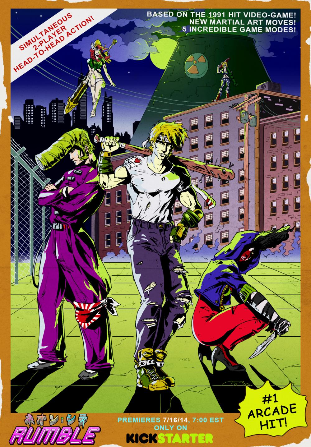 """NCR Retro Poster"" by Davy Wagnarok, 2014."