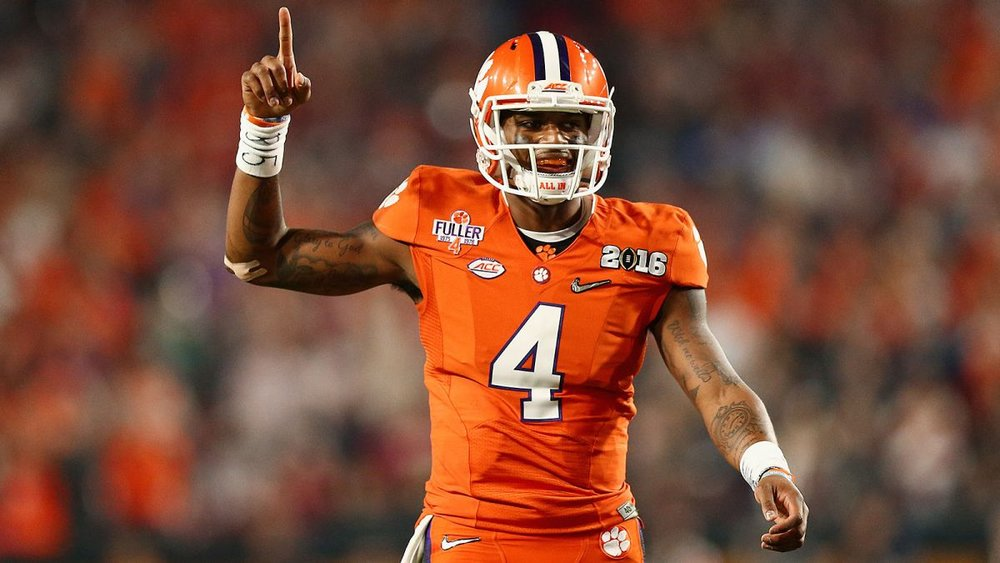Deshaun Watson is the best player in the country.