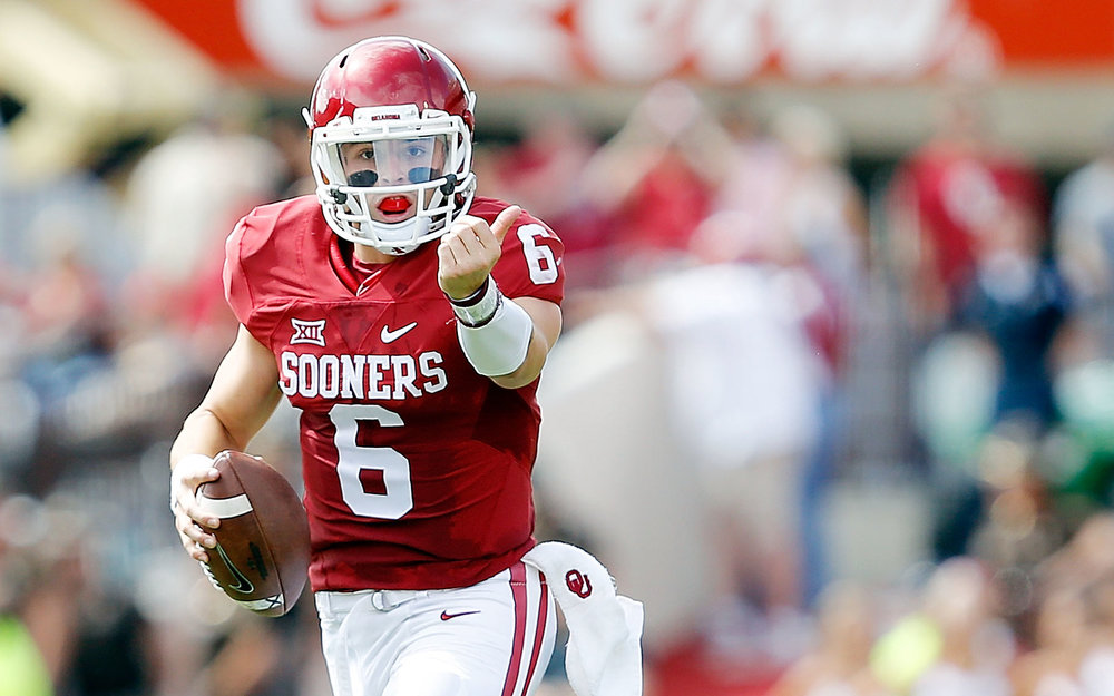 Baker Mayfield should come up huge for the Sooners in 2016.