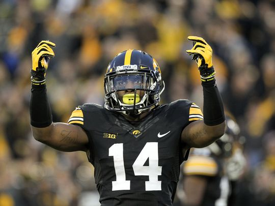I've got Desmond King leading Iowa to a B1G crown in 2016.