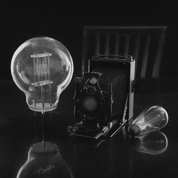 Voighlander Camera and Edison
