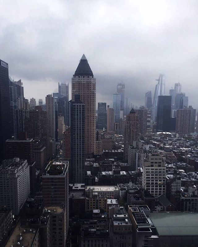 I hear a storm is coming #nyc