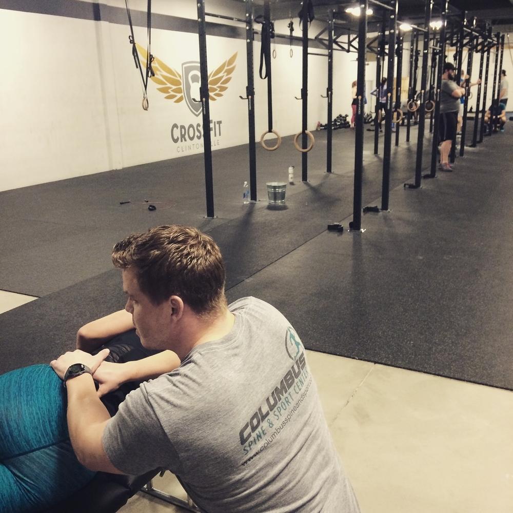 Saturday ART treatments at CrossFit Clintonville